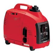 Red Electrical Generator